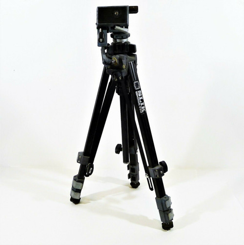 Slik Universal U-212 Deluxe Camera Tripod Pan Tilt Head **MISSING PAN HANDLE