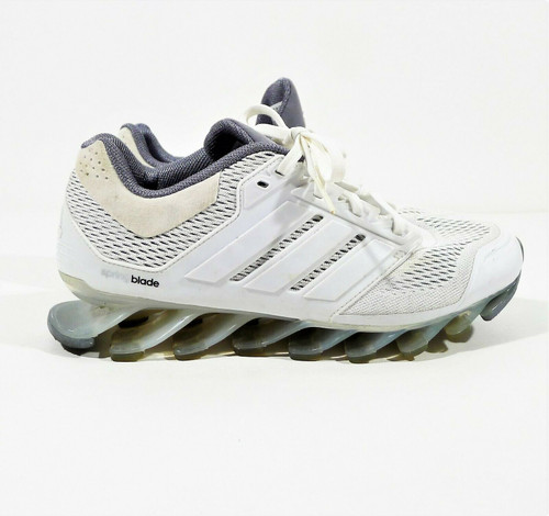 Adidas Women's White Springblade Drive Running Sneakers Shoes Size 7 DIRT/STAINS
