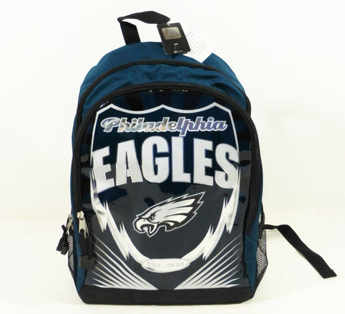 "NFL Philadelphia Eagles Backpack 16"" T x 11"" W x 5"" D   NEW"