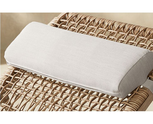 CB2 Beige Lodi Sun Lounger Headrest Pillow (NOT ADJUSTABLE) - NEW