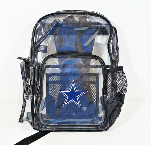 The Northwest Company Clear Dallas Cowboys Dimension Backpack - NEW WITH TAGS