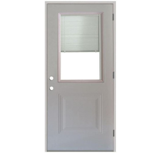 1/2 Lite Pre-Hung Door with Mini Blinds