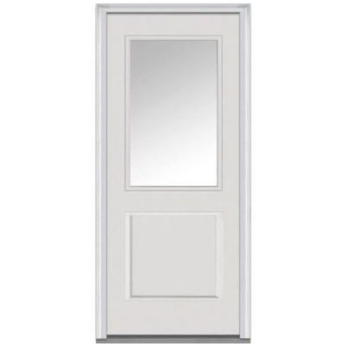 Half-Lite Pre-Hung Panel Door No Blinds