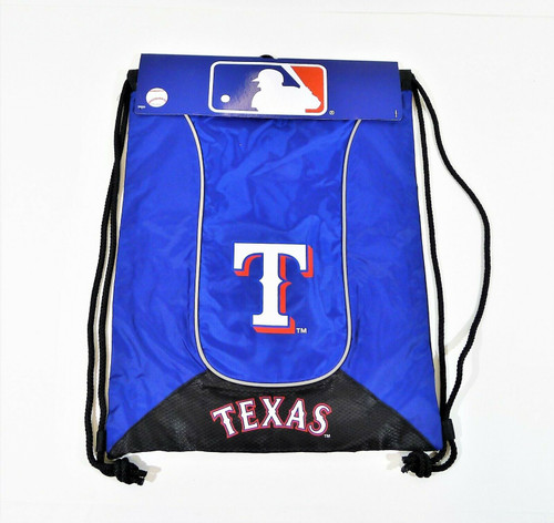 "Concept One Blue/Black Texas Rangers Team Back-Sack  17.5"" x 13"" - NEW"