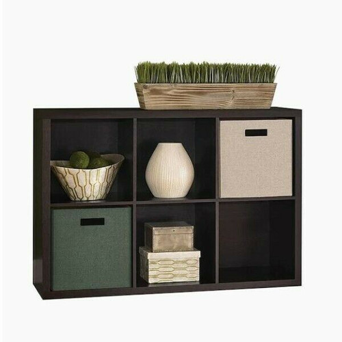 ClosetMaid 4109 Decorative 6-Cube Storage Organizer LOCAL PICKUP ONLY, AUSTIN TX
