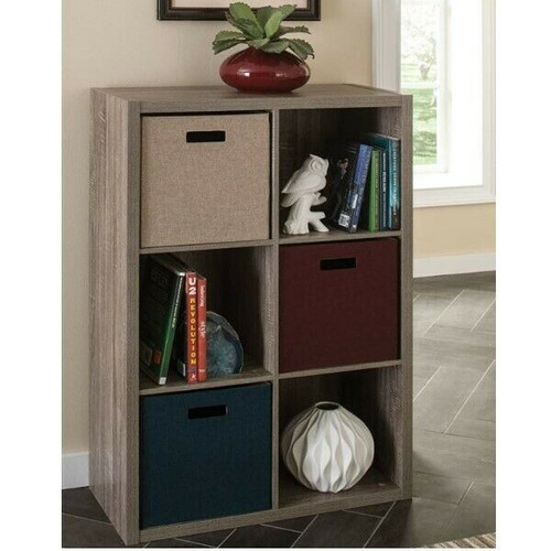 ClosetMaid 1326 Decorative 6 Cube Organizer LOCAL PICKUP ONLY, AUSTIN TX