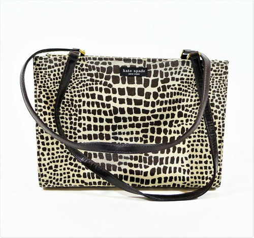 Kate Spade New York Giraffe Print Shoulder Bag Purse