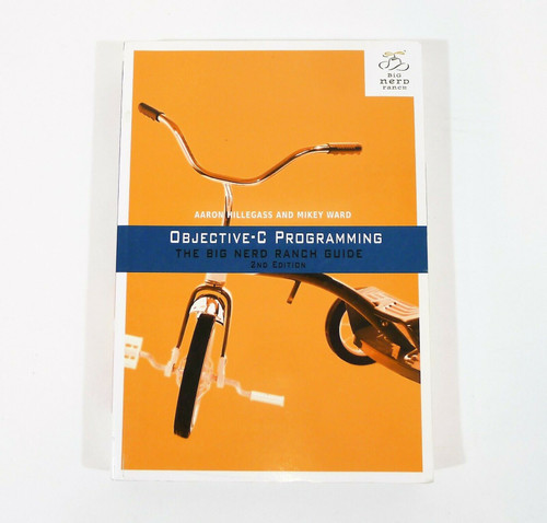 The Big Nerd Ranch Guide Objective-C Programming  2nd Edition Paperback Book