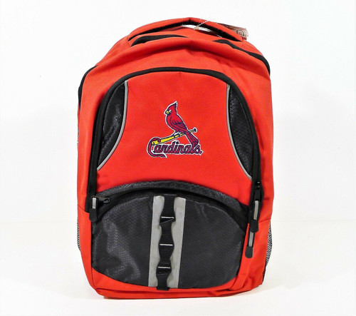 Northwest Co. Red/Black St. Louis Cardinals Captain Backpack  - NEW WITH TAGS