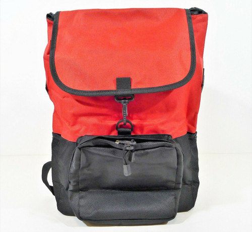 "Northwest Co. Red and Black Capitol Backpack 18"" H x 12.5"" W x 5.5"" D - NEW"