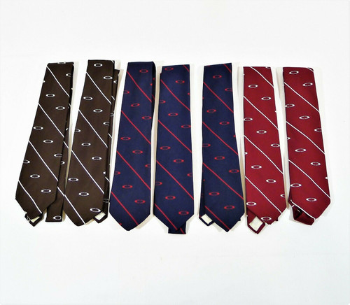 Set of 7 Vintage Prince Consort Ties Woven for E.R. Carpenter Company