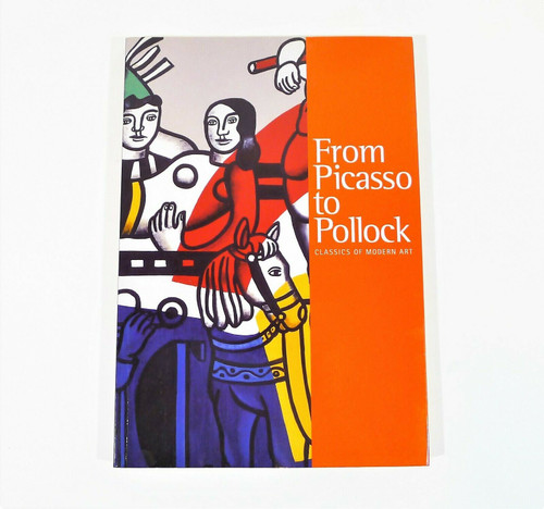 "From Picasso To Pollock Classics of Modern Art Paperback Book 12"" x 8.25"""