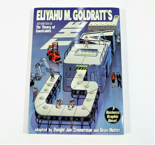The Goal A Business Graphic Novel Paperback Book The Theory of Constraints