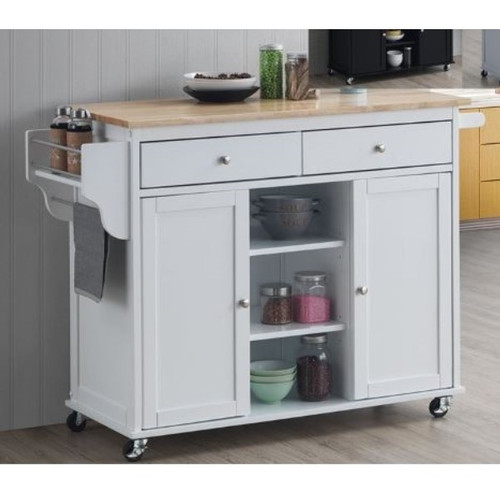 Grady Kitchen Island Cart
