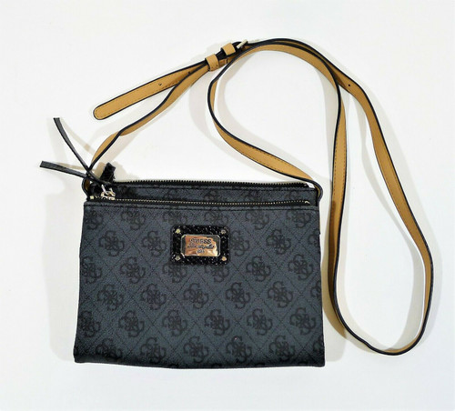 Guess Los Angeles Gray Crossbody Bag Purse