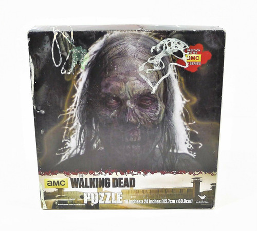 """Cardinal The Walking Dead Puzzle 500 Piece 18"""" x 24"""" NEW SEALED **DAMAGED BOX"""