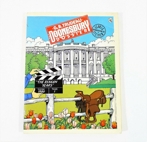 "Doonesbury Dossier ""The Reagan Years"" Scene 1980 Take 1 Paperback Book"