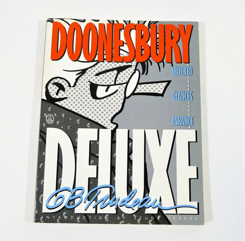 Doonesbury Deluxe Selected Glances Askance Paperback Book