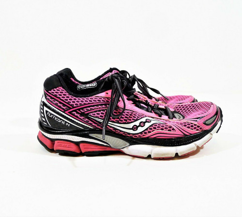 Saucony Women's Pink Hurricane Athletic Shoes 7 - 10134-4