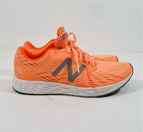 New Balance Women's Coral/White Fresh Foam Zante V4 Running Shoes Size 10.5