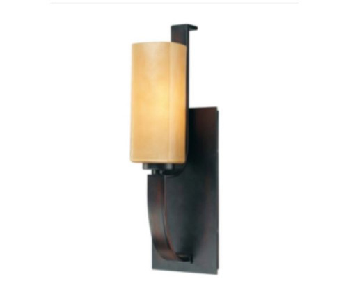 "Minka-Lavery Kinston 1 Light 5"" Aged Kinston Bronze Bath Wall Light 6471-298 NEW"