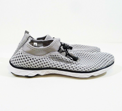 Suokeni Men's Gray Quick Drying Slip On Water Shoes Size 45 (US 11.5) - NEW