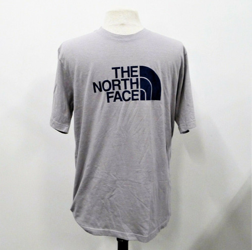 The North Face Men's Gray Slim Fit T-Shirt Size Large