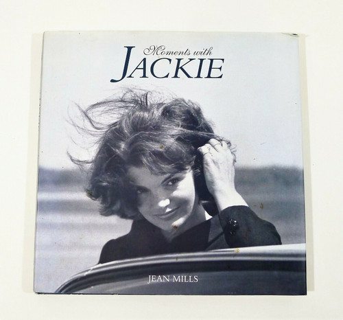 Moments with Jackie Hardcover Book by Jean Mills