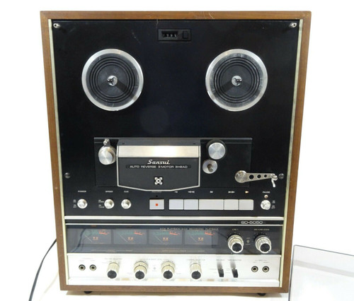 Sansui SD-5050 Stereo Reel to Reel *Not Fully Test  LOCAL PICKUP ONLY, AUSTIN TX