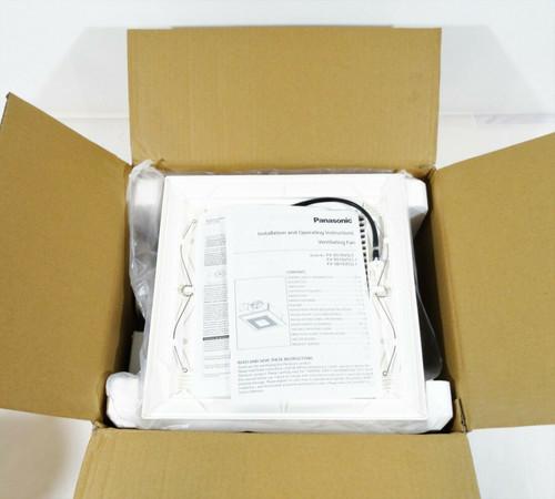 Panasonic WhisperValue DC Ventilation Fan with Light FV-0510VSL1  NEW - OPEN BOX