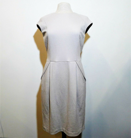 One Forty 8 Women's Light Gray Virgin Wool Dress Size 8 - NEW WITH TAGS