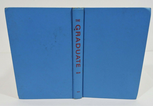 Vintage The Graduate Charles Webb Copyright 1963 Hardcover