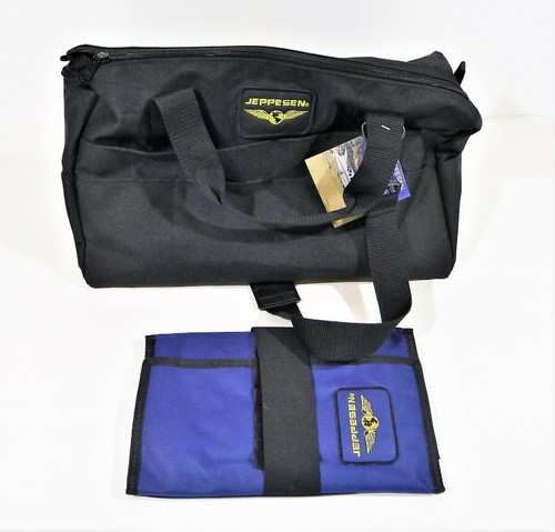 Jeppesen Student Book Bag and Clipboard - NEW WITH TAGS