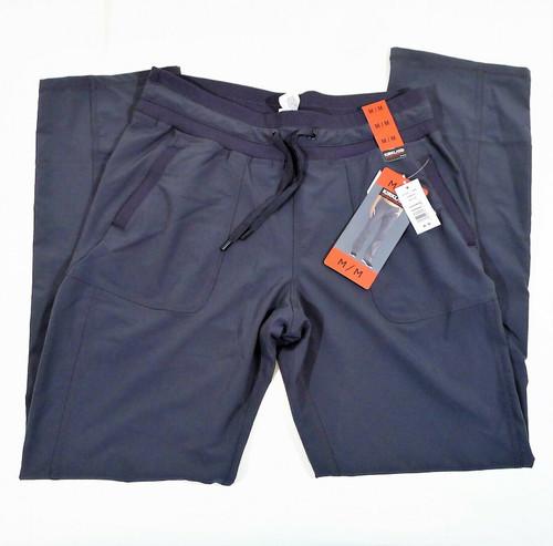 Kirkland Signature Women's Gray Activewear Drawstring Pants Size M- NEW W/ TAGS