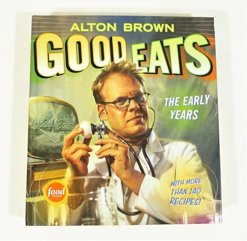 Alton Brown Good Eats The Early Years Hardback Book Cookbook