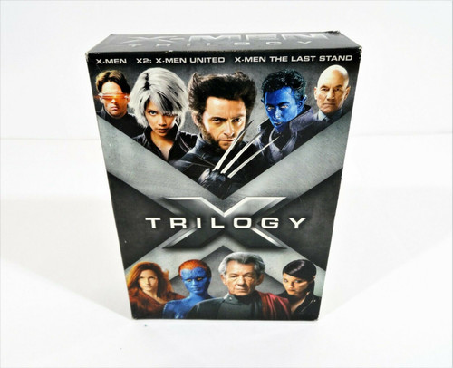 X-Men Trilogy Pack (DVD, 2009, 3-Disc Set, Widescreen)