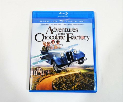 Adventures at the Chocolate Factory Blu-ray + DVD