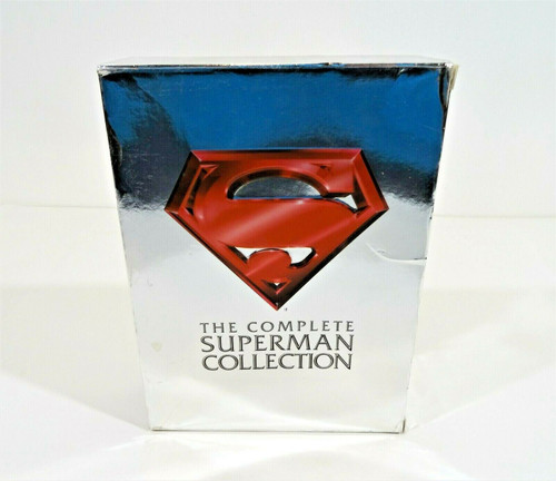 The Complete Superman Movies Collection DVD Set Superman 1-4