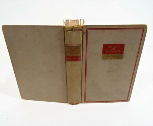 Vintage The Song of Bernadette 1943 Hardcover - Franz Werfel