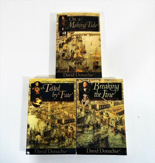 David Donachie -The Nelson and Emma Trilogy Set Paperback
