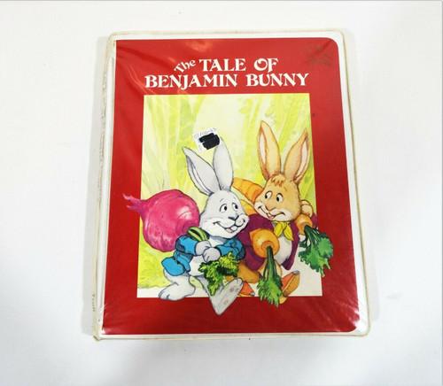 The Tale of Benjamin Bunny - 1983 Troll Associates Book & Cassette Set