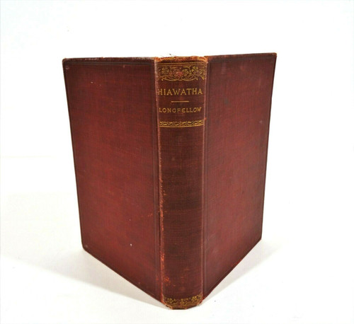 Vintage The Song of Hiawatha - Henry W Longfellow Hardcover *Has Inscription*