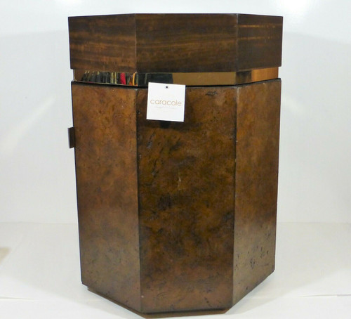 Caracole Uniquely Designed Round Side/End Table LOCAL PICKUP ONLY, AUSTIN TX