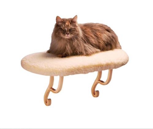 K&H Pet Products Kitty Sill Cat Window Heated Hanging Bed - NEW