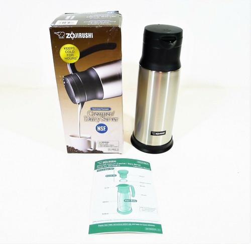 Zojirushi Stainless 34 oz. Vacuum Creamer Dairy Server SH-MAE10 - OPEN BOX