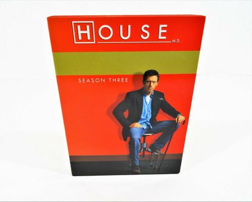 House Season 3 Three Box DVD Set 5 Discs