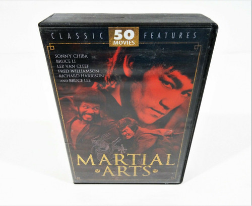 Martial Arts DVD Movies Box Set *Missing One Disc*