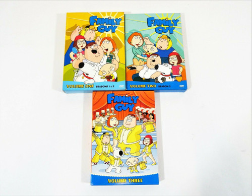Family Guy DVD Collection Volumes 1 2 & 3 Box Sets