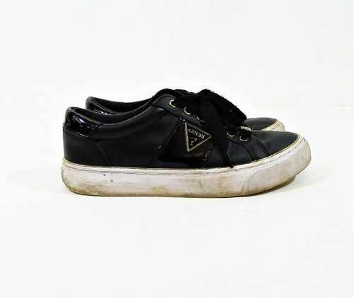 Guess Factory Women's Black Gabey Low Top Shoes Size 7
