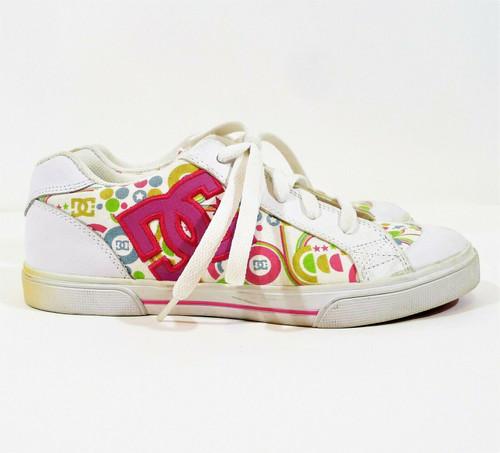 DC Women's Multicolor Chelsea Skateboard Shoes Size 5